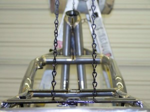 Close up of this motorcycle frame